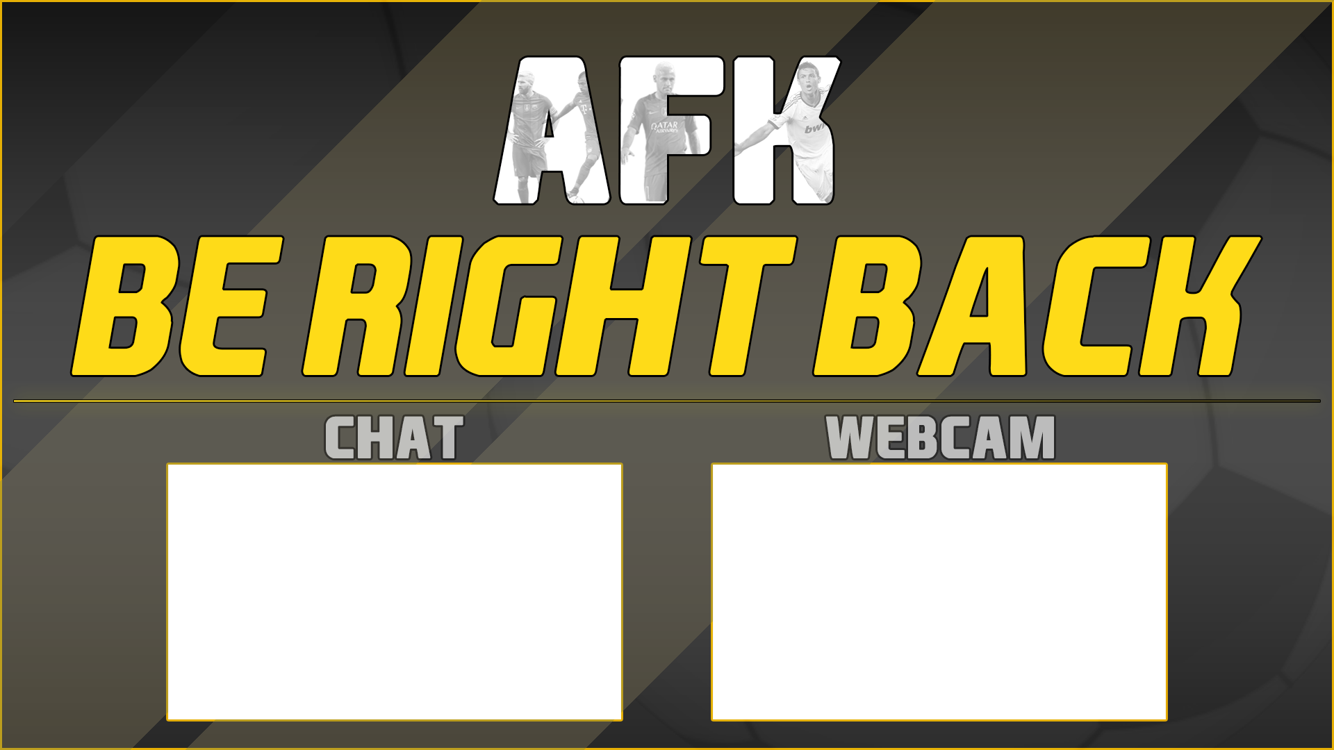 FIFA Stream Overlay for free, Graphics for Streamers Freebies
